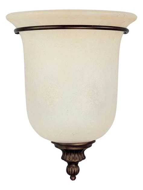 capital burnished bronze avery 2 light wall washer sconce