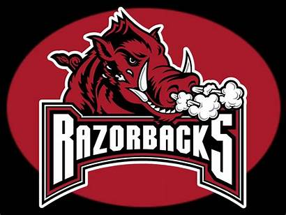 Razorbacks Arkansas Rock Football Logos Hogs College