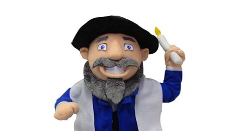 mench on the bench mensch on a bench a small stuffed doll hasid