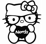 hd wallpapers coloring pages hello kitty nerd - Coloring Pages Kitty Nerd