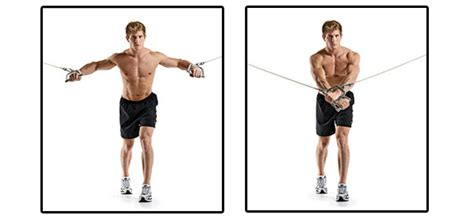 pec deck flyes cable crossovers exercise chest flyes for maximum development