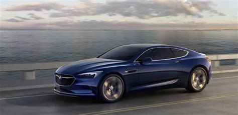 Buick Sports Car by The Buick Avista Concept Is A Badass 400 Hp Rwd Luxury