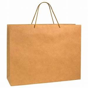 Sac Papier Kraft Deco : sac papier kraft luxe naturel 52 16x40cm poign es cordon coton 200g laval europe ~ Dallasstarsshop.com Idées de Décoration