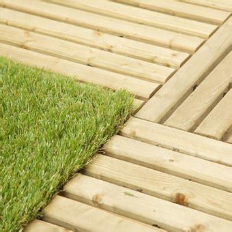 outdoor deck turf tile wood base turf top tile outdoor