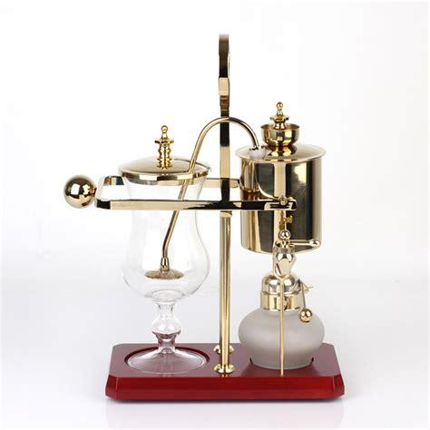 Diguo belgian / belgium luxury royal family balance syphon coffee maker. Royal Balancing Siphon Coffee Machine/belgium Coffee Maker ...