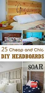 25, Cheap, And, Chic, Diy, Headboard, Ideas