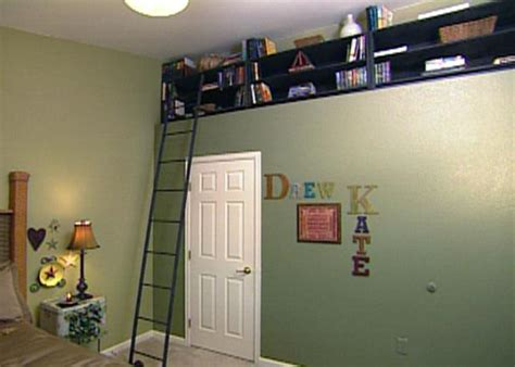 how to build bookshelves for a recessed nook hgtv