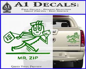 Usps Price Chart 2019 Mr Zip Usps Decal Sticker Post Office A1 Decals