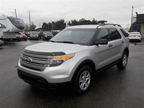 2013 Ford Explorer 4wd With 3rd Row Seating Outside Comox