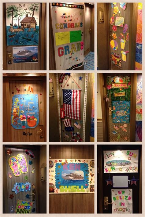 cruise door decorating  cruise cruise