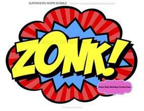 Free Printable Superhero Words