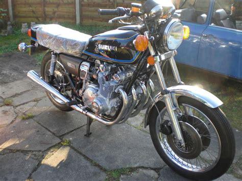 Suzuki Gs750 Parts by Restored Suzuki Gs750 1977 Photographs At Classic Bikes