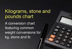 Kilograms Stones And Pounds Chart