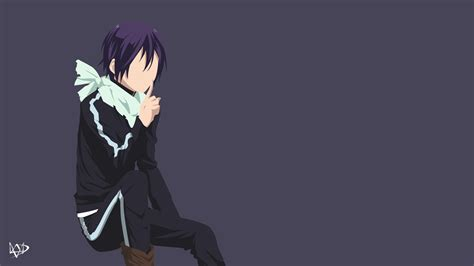 Anime Minimalist Wallpaper - yato v3 noragami minimalist anime wallpaper by