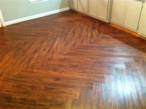 vinyl kitchen backsplash cherry vinyl plank flooring with zig zag pattern