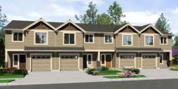 row home floor plans 4 plex house plans multiplexes quadplex plans