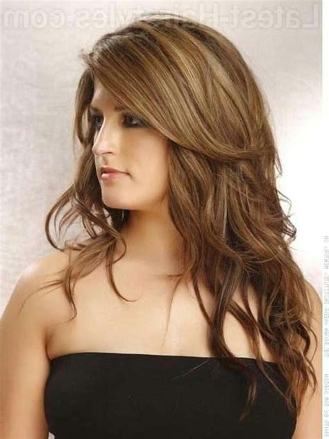 hairstyles for long heavy hair 2019 popular heavy layered long hairstyles