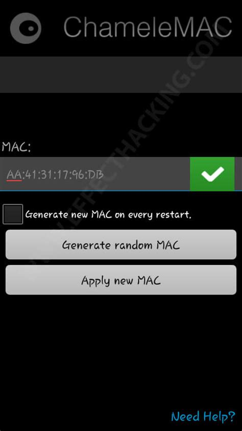 change mac address android 3 ways to spoof mac address on android phones no root