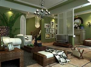 Amazing of green and grey living room interior paint color for Green and grey living room