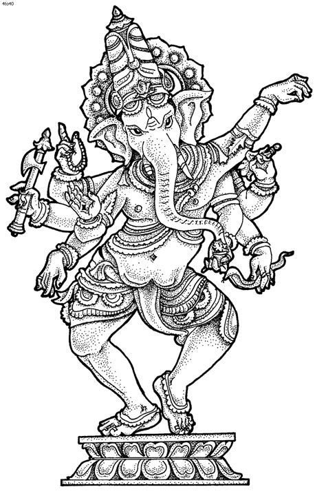ganesha coloring pictures | Ganesh Chaturthi Coloring Pages, Ganesh Chaturthi Top 20 Coloring