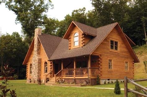 wow     cost  build  log cabin  home plans design
