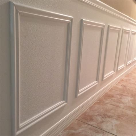 Faux Wainscoting by Diy Faux Wainscoting Frills Drills