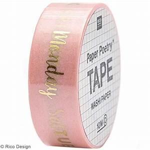 Masking Tape Doré : masking tape bullet journal jours rose et dor 1 5 cm x 10 m masking tape motif creavea ~ Teatrodelosmanantiales.com Idées de Décoration
