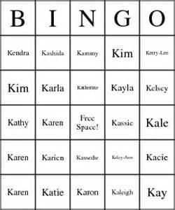 girl names : k
