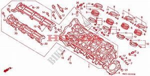Cylinder Head For Honda Cbr 900 Fireblade 1995   Honda