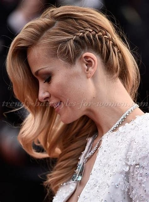 hairstyles with braid on one side google search hair