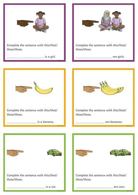 demonstrative pronouns interactive worksheet