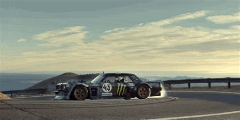 ken block stuck  turbos   hoonicorn  tackle