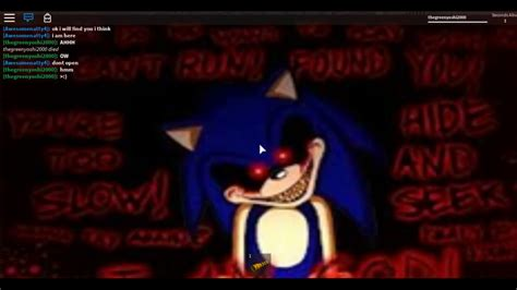 roblox survive sonic exe in area 51 update youtube
