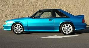 Teal Blue 1993 Ford Mustang SVT Cobra Hatchback - MustangAttitude.com Photo Detail