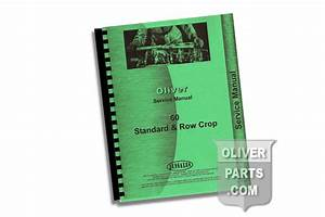 Service Manual - Oliver 60 Standard  U0026 Row Crop