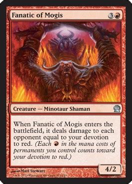 fanatic  mogis  theros spoiler