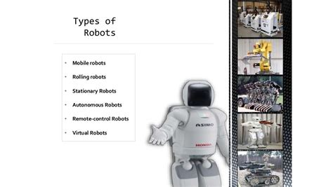 Types Of Robot