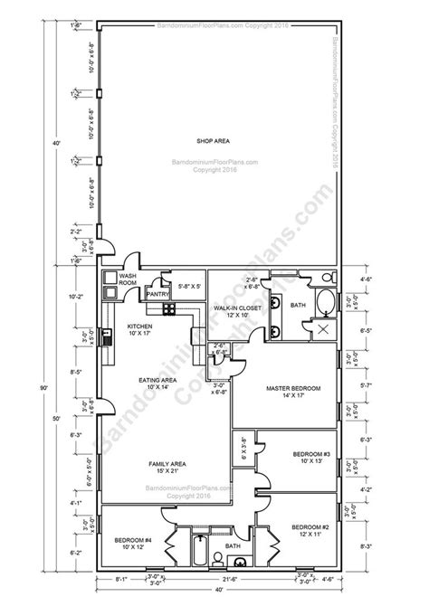 40x60 Open Floor Plans by 17 Best Ideas About Metal House Plans On Open