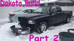 Dodge Dakota Build  2- Bumper Install  U0026 Lift Kit