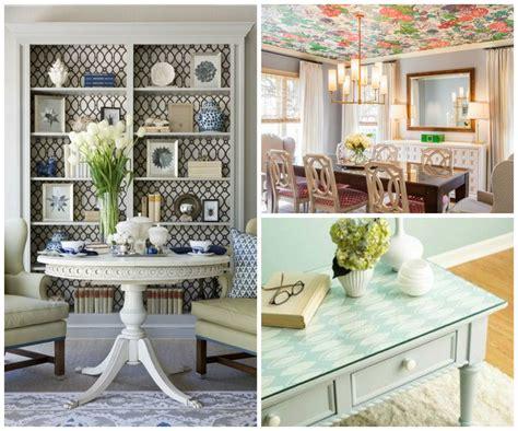 ways   wallpaper   living room