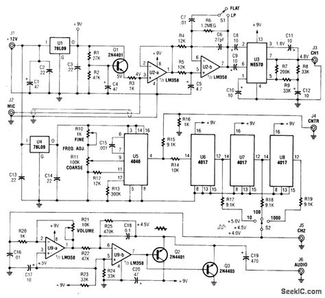 Precision Audio Frequency Generator Signal Processing