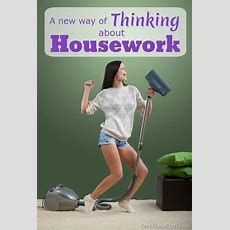 A New Way Of Thinking About Housework  Cook Clean Craft