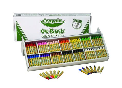 Crayola Oil Pastels Classpack 336-count, Yo-yos