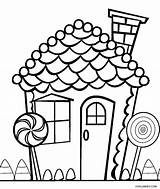 Coloring Candy Gingerbread Printable Cool2bkids sketch template