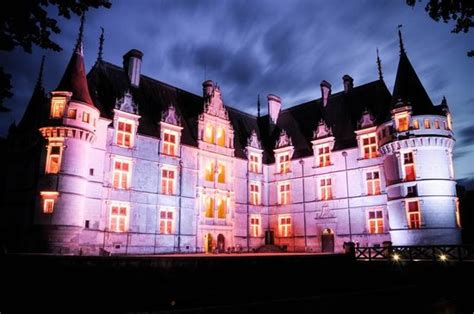 go after dark picture of chateau of azay le rideau azay