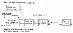 Rgb Led Controller W   Rf Remote - Dynamic Color-changing Modes  Channel