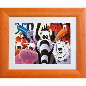 Tableau Deco Chambre : tableau animaux la famille de copains d co chambre enfant b b d coration murale ~ Teatrodelosmanantiales.com Idées de Décoration