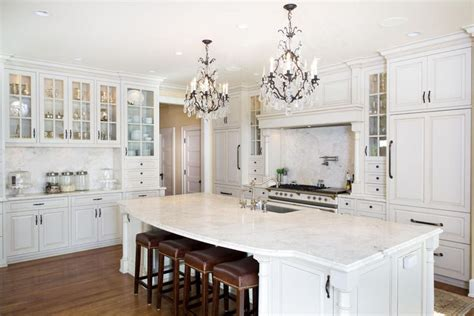 white kitchen cabinets with white marble countertops 30 beautiful white kitchens design ideas designing idea 2215