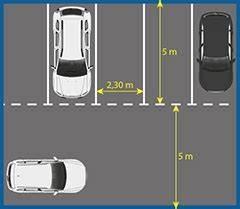 Place De Parking Dimension : stationnement et places de parking seton fr ~ Medecine-chirurgie-esthetiques.com Avis de Voitures
