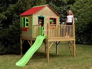 Maisonnette En Bois Sur Pilotis : maisonnette sur pilotis soulet aurore en bois avec ~ Dailycaller-alerts.com Idées de Décoration